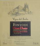 Fontodi Chianti Classico Vigna del Sorbo Riserva label