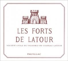 Château Latour Les Forts de Latour label
