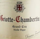 Domaine Fourrier Griotte-Chambertin Grand Cru Vieilles Vignes label