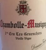 Domaine Fourrier Chambolle-Musigny Premier Cru Les Gruenchers Vieilles Vignes label