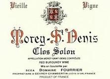 Domaine Fourrier Morey-Saint-Denis Clos Solon Vieilles Vignes label
