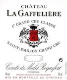 Château La Gaffelière  Premier Grand Cru Classé B label