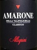 Allegrini Amarone della Valpolicella Classico  label