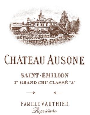 Château Ausone  Premier Grand Cru Classé A label