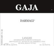 Gaja Langhe Darmagi label