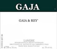 Gaja Langhe Gaia & Rey label
