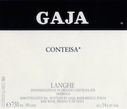 Gaja Barolo Conteisa label
