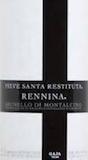 Gaja Brunello di Montalcino Rennina label