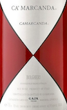 Ca'Marcanda Camarcanda label
