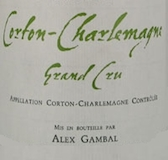 Alex Gambal Corton-Charlemagne Grand Cru  label
