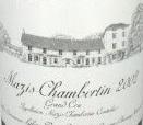 Domaine d'Auvenay (Lalou Bize-Leroy) Mazis-Chambertin Grand Cru  label