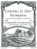 Château Le Gay  label