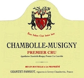 Domaine Geantet-Pansiot Chambolle-Musigny Premier Cru  label