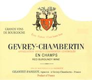 Domaine Geantet-Pansiot Gevrey-Chambertin En Champs label