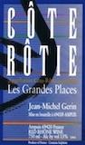 Domaine Jean-Michel Gerin Côte Rôtie Les Grandes Places label