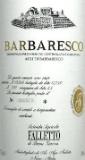 Azienda Agricola Falletto (Bruno Giacosa) Barbaresco  label