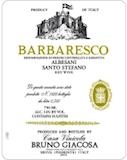 Casa Vinicola Bruno Giacosa Barbaresco Santo Stefano (di Neive / Albesani) label