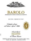 Azienda Agricola Falletto (Bruno Giacosa) Barolo Vigna Croera label