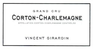 Domaine Vincent Girardin Corton-Charlemagne Grand Cru  label