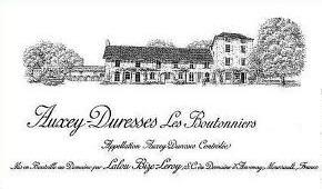 Domaine d'Auvenay (Lalou Bize-Leroy) Auxey-Duresses Les Boutonniers label