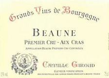 Camille Giroud Chambertin Grand Cru  label