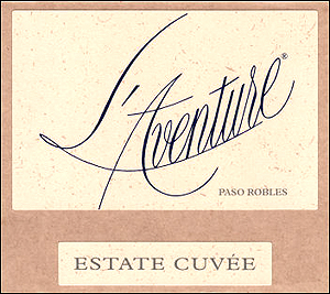 L'Aventure Estate Cuvée label