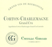 Camille Giroud Corton-Charlemagne Grand Cru  label