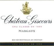 Château Giscours  Troisième Cru label