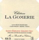 Château La Gomerie  Grand Cru label