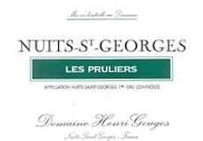 Domaine Henri Gouges Nuits-Saint-Georges Premier Cru Les Pruliers label