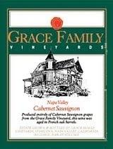 Grace Family Vineyards Cabernet Sauvignon label