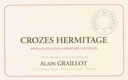Domaine Alain Graillot Crozes-Hermitage La Guiraude label