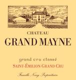 Château Grand-Mayne  Grand Cru Classé label