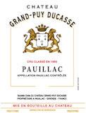 Château Grand-Puy-Ducasse  Cinquième Cru label