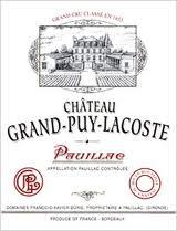 Château Grand-Puy-Lacoste  Cinquième Cru label