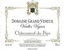 Domaine Grand Veneur Châteauneuf-du-Pape Vieilles Vignes label