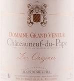 Domaine Grand Veneur Châteauneuf-du-Pape Les Origines label