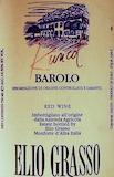 Elio Grasso Barolo Rüncot Riserva label
