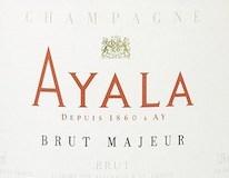 Ayala Brut Majeur label
