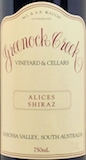 Greenock Creek Alices Shiraz label