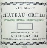 Château Grillet Château-Grillet  label