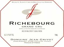 Domaine Jean Grivot Richebourg Grand Cru  label