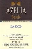 Azelia Barolo San Rocco label