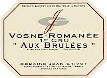 Domaine Jean Grivot Vosne-Romanée Premier Cru Aux Brûlées label
