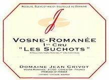 Domaine Jean Grivot Vosne-Romanée Premier Cru Les Suchots label