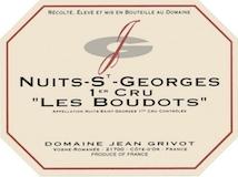 Domaine Jean Grivot Nuits-Saint-Georges Premier Cru Les Boudots label