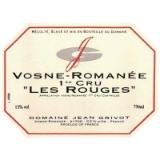 Domaine Jean Grivot Vosne-Romanée Premier Cru Les Rouges label