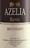 Azelia Barolo Bricco Fiasco label