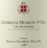 Domaine Robert Groffier Père et Fils Chambolle-Musigny Premier Cru Les Sentiers label