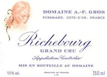 Domaine A.-F. Gros Richebourg Grand Cru  label